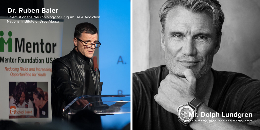 "Shatter the Myths"" Parent Webinar with Dr. Ruben Baler Moderated by Dolph Lundgren"