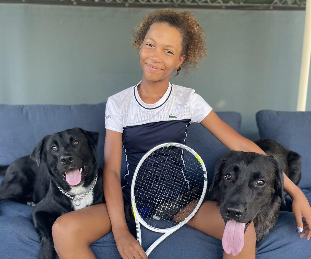 Thea Frodin tennis